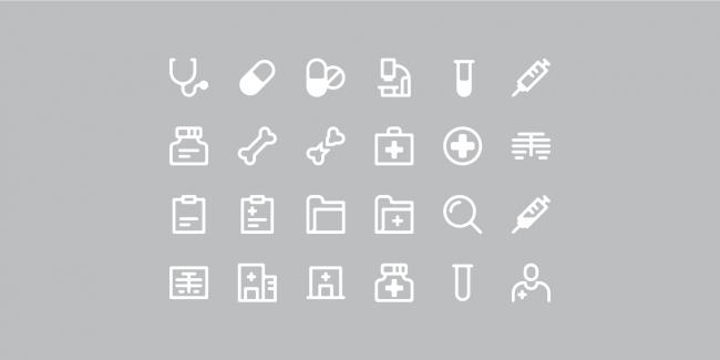 Healthcare ikoner
