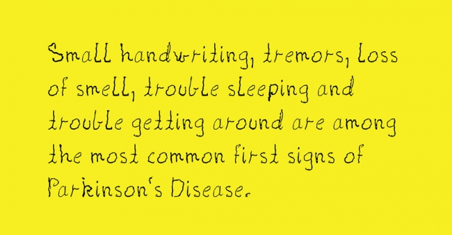 The Parkinson font